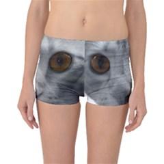 Funny Cat Boyleg Bikini Bottoms