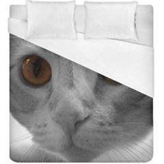 Funny Cat Duvet Cover Single Side (kingsize)