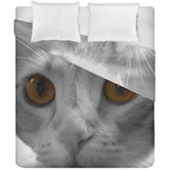 Funny Cat Duvet Cover (double Size)