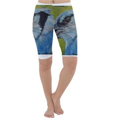 Blue Jay Cropped Leggings