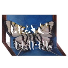 Butterfly Best Friends 3D Greeting Card (8x4)