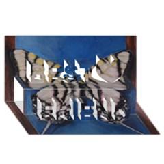 Butterfly Best Friends 3d Greeting Card (8x4)