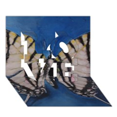 Butterfly LOVE 3D Greeting Card (7x5)