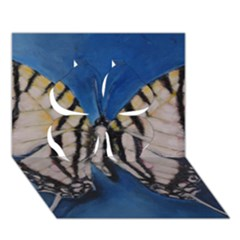 Butterfly Clover 3d Greeting Card (7x5)