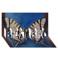 Butterfly Best Bro 3d Greeting Card (8x4)