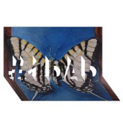 Butterfly #1 Dad 3d Greeting Card (8x4)