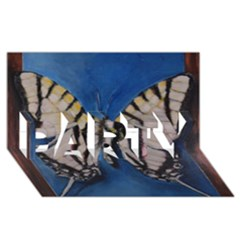 Butterfly PARTY 3D Greeting Card (8x4)