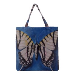 Butterfly Grocery Tote Bags
