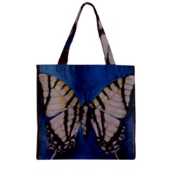 Butterfly Zipper Grocery Tote Bags