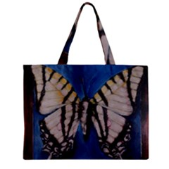 Butterfly Zipper Tiny Tote Bags