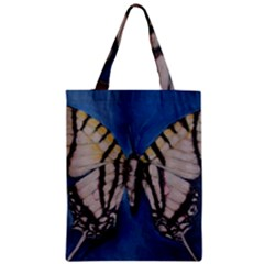 Butterfly Zipper Classic Tote Bags