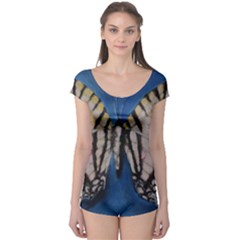 Butterfly Short Sleeve Leotard
