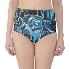 Man and Woman High-Waist Bikini Bottoms
