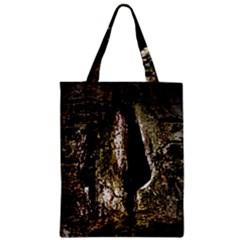 A Deeper Look Zipper Classic Tote Bags