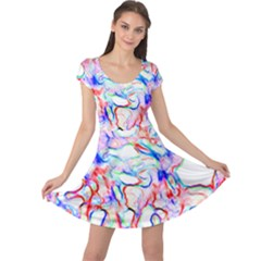 Soul Colour Light Cap Sleeve Dresses