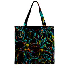Soul Colour Zipper Grocery Tote Bags