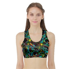 Soul Colour Women s Sports Bra With Border