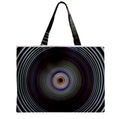 Colour Twirl Zipper Tiny Tote Bags