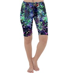 Colour Play Flowers Cropped Leggings