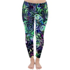 Colour Play Flowers Winter Leggings