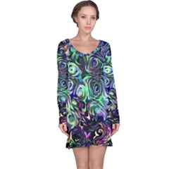 Colour Play Flowers Long Sleeve Nightdresses