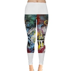 Abstract Music Painting Women s Leggings