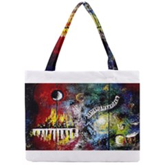 Abstract Music Painting Tiny Tote Bags