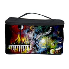 Abstract Music Painting Cosmetic Storage Cases