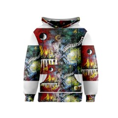 Abstract Music Painting Kid s Pullover Hoodies