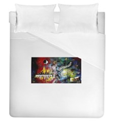 Abstract Music Painting Duvet Cover Single Side (full/queen Size)