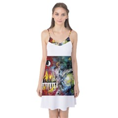 Abstract Music Painting Camis Nightgown