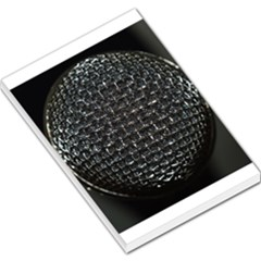 Modern Microphone Large Memo Pads