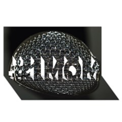 Modern Microphone #1 Mom 3d Greeting Cards (8x4)