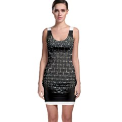 Modern Microphone Bodycon Dresses