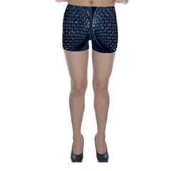 Modern Microphone Skinny Shorts