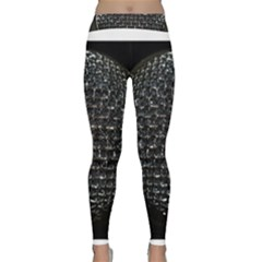 Modern Microphone Yoga Leggings