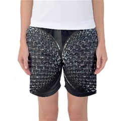 Modern Microphone Women s Basketball Shorts