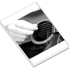 Guitar Player Large Memo Pads