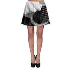 Guitar Player Skater Skirts