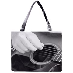 Guitar Player Tiny Tote Bags