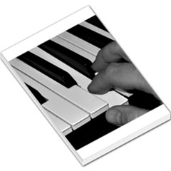 The Piano Player Large Memo Pads