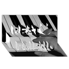The Piano Player Best Friends 3D Greeting Card (8x4)