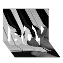 The Piano Player BOY 3D Greeting Card (7x5)