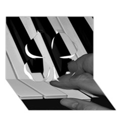 The Piano Player Clover 3d Greeting Card (7x5)
