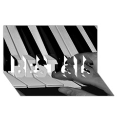 The Piano Player Best Sis 3d Greeting Card (8x4)