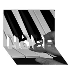 The Piano Player HOPE 3D Greeting Card (7x5)