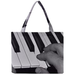 The Piano Player Tiny Tote Bags