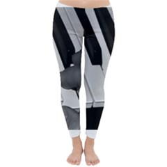 The Piano Player Winter Leggings
