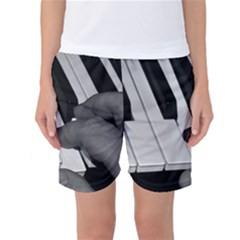 The Piano Player Women s Basketball Shorts