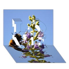 Bumble Bee 1 Love 3d Greeting Card (7x5)